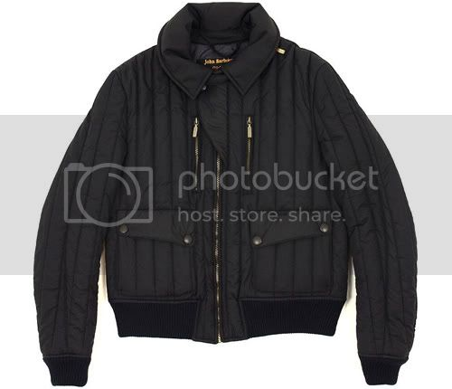 Barbour x Tokihito Yoshida Quilted Blouson Jacket
