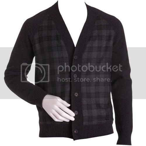 Jil Sander Plaid Cardigan
