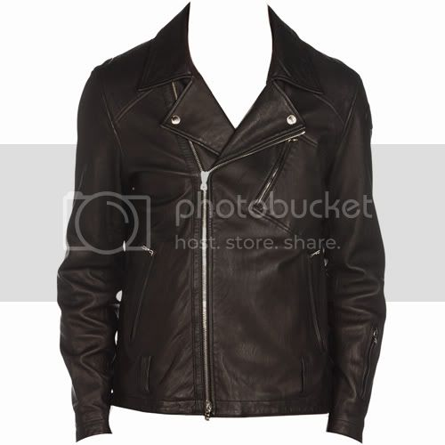 Sophnet Leather Biker Jacket